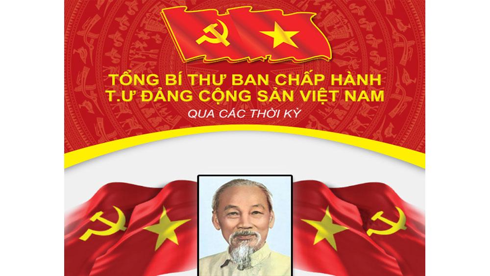Tổng Bí thư Ban Chấp hành T.Ư Đảng Cộng sản Việt Nam qua các thời kỳ